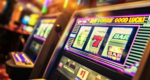 Revenue last year said it considered 'one-armed bandit' and similar machines to be for gaming rather than items of amusement. Photograph: iStock
