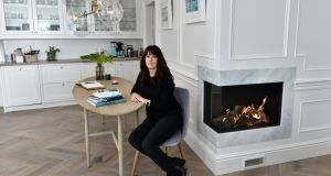 Karen Bolleboom in the kitchen of  One Shore Street. Photograph:  Colm Lenaghan/ Pacemaker