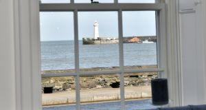 The boutique B&B is on the seafront in Donaghadee in Co Down. Photograph: Colm Lenaghan/ Pacemaker