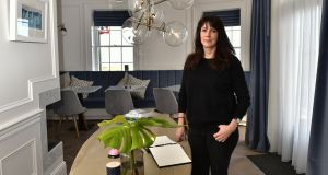 Karen Bolleboom, owner of One Shore Street, the boutique B&B in Co Down. Photograph:  Colm Lenaghan/ Pacemaker