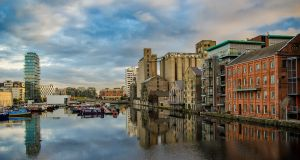 Dublin's Grand Canal Dock. When it comes to the post-Brexit bounce for Dublin, it may be a case of be careful what you wish for. Photograph: Getty Images