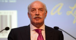 Dermot Desmond's IIU now holds  29.9 per cent of Datalex.  Photograph: Dara Mac Dónaill