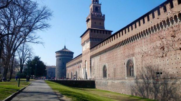 Milan's Sforzesco Castle is 'a peaceful downtown oasis'