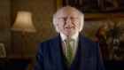 President Higgins highlights climate change during St Patrick's Day address