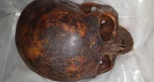 Gardaí recovered the head of an 800-year-old mummy, known as the Crusader, earlier this month.
