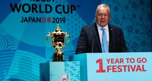 World Rugby Chairman Bill Beaumont admitted resistance to World Rugby's plans still remains. Photograph: Issei Kato/Reuters
