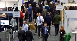 The National Construction Summit took place at the Citywest Convention Centre in Dublin on Thursday. Photograph: Justin Farrelly
