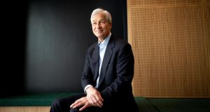 JP Morgan CEO Jamie Dimon says the company may have to move a 'raft' of jobs out of London. Photograph: Tom Honana.