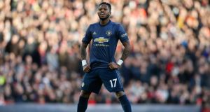 Manchester United's Fred: 'We are prepared for whoever we are drawn against.' Photograph: Getty Images