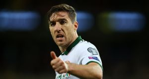Stephen Ward has played his last match for the Republic of Ireland. Photograph: Getty Images