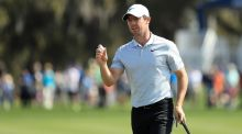Rory McIlroy during the first round of The Players at TPC Sawgrass. Photograph: Mike Ehrmann/Getty Images