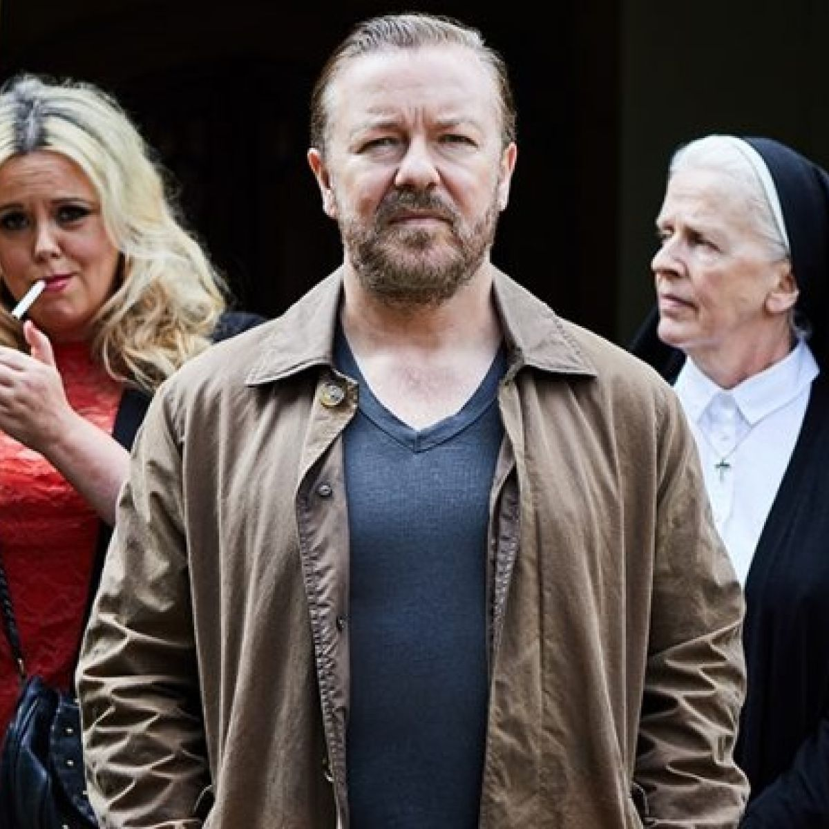 After Life: Ricky Gervais's obnoxious new comedy isn't funny