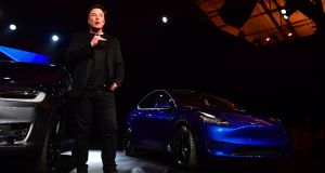 "Tesla CEO Elon Musk: ""I think we'll probably do more Model Ys than S and X combined,"" Mr Musk"
