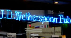 JD Wetherspoon reported a sharp rise in labour costs, which it says  rose by about £33 million