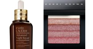 Louise McSharry on Bobbi Brown Shimmer Brick in Rose: These days I don't really try to impress anyone, and that feels good