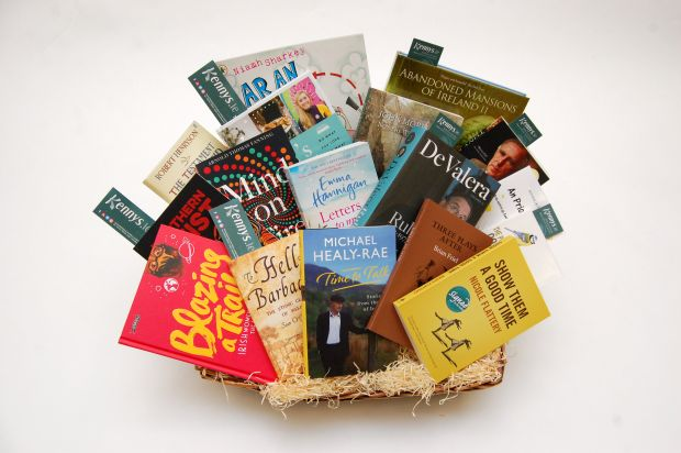 Kennys.ie: the winner receives a hamper of Irish books worth €250 from Ireland's largest online bookshop