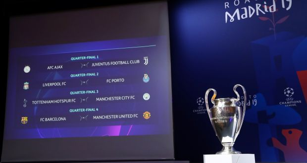 Champions League Draw United Face Barca While Liverpool Pull Porto