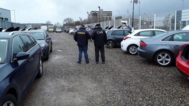 Photograph: Garda press office