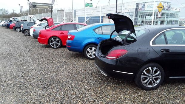 The criminals had set up car sales businesses to launder the proceeds of their drug dealing and also give themselves the appearance of having legitimate incomes. They were also using luxury vehicles, some valued at up to € 150,000, as payment for drugs. Photograph: Garda press office