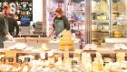 Sheridans: its counter at Dunnes' Cornelscourt supermarket was named best cheese shop in the UK and Ireland