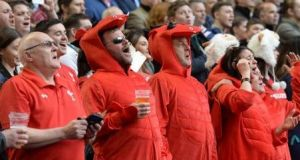 Those lucky enough to be in the Millennium Stadium instinctively know that they are participating in one of the enduring rites of passage in their country: Wales in a spring-time Six Nations game with everything on the line. Photograph: Getty Images