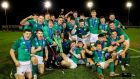 Ireland complete Under-20 Six Nations Grand Slam triumph