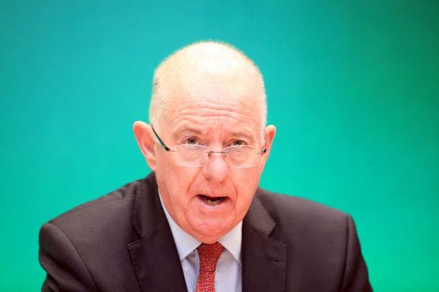 Minister for Justice, Charlie Flanagan: 'Our ambition throughout the Brexit negotiations has been to ensure that the Good Friday Agreement can continue to operate in all its parts after the UK leaves the European Union.' Photograph: Garrett White/Collins Photo Agency
