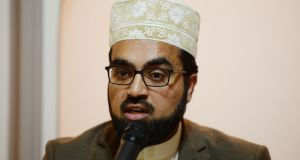 "Shaykh Dr Umar Al-Qadri, chair of the Irish Muslim Peace and Integration Council, said Irish politicians and media  ignored Islamophobic rhetoric  when espoused by online activists, and this was ""hugely problematic"". File photograph: Alan Betson"