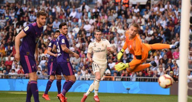 71016266e Gareth Bale of Real Madrid shoots during the La Liga win over Celta Vigo at  the