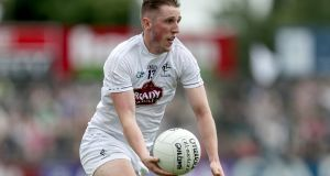 Neil Flynn scored an injury-time point for Kildare.