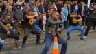 Biker gang performs haka for victims of Christchurch shootings