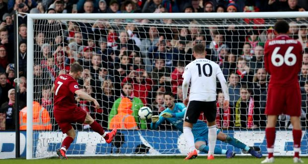 Liverpool re-take top spot after surviving Fulham scare