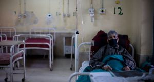 A TB patient in Srinagar in Indian-administered Kashmir. According to the World Health Organisation, there were more than 10m  new cases of TB diagnosed around the world in 2017. Photograph: Yawar Nazir/Getty Images