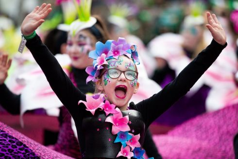 St. Patrick's Festival Parade, Dublin. Performers part of St Patricks Day Photo: Tom Honan for The Irish Times.