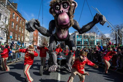Cork St. Patrick's Day Parade which is organised by Cork City Council.  Picture Clare Keogh