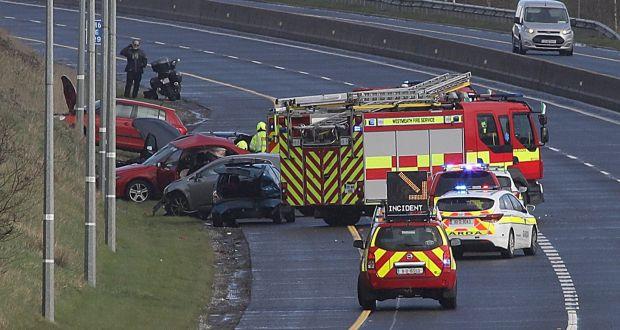 Driver killed, 11 injured in five-car M6 motorway crash