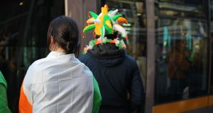 Public transport on St Patrick's Day: A riot of green flags, shamrocks and alcohol