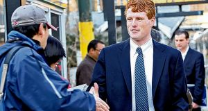 "Joe Kennedy III: ""We can win without segmenting our society."" Photograph: Suzanne Kreiter"