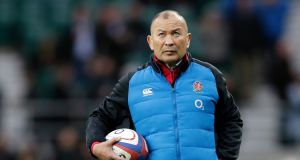 England coach  Eddie Jones believes his side can win the   World Cup. Photograph: Getty Images