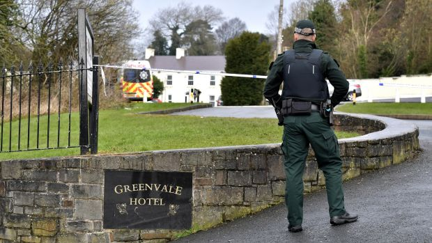 A 17-year-old girl and two boys aged 16 and 17 died after reports of a crush at a St Patrick's Day party held at the hotel. Photograph: Charles McQuillan/Getty Images