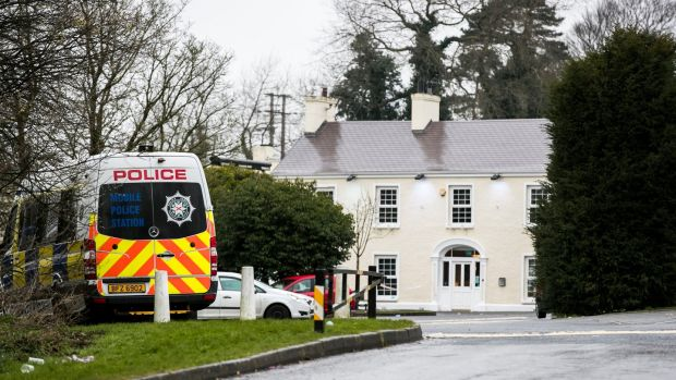 The Greenvale Hotel in Cookstown, Co. Tyrone, in Northern Ireland where three young people have died. Photograph: Liam McBurney/PA Wire