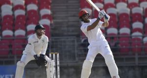 Afghanistan batsman Rahmat Shah made 72 to help sis side secure a seven-wicket victory over Ireland in the Test match at Dehradun, India.