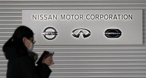 Last week, Nissan, Renault and junior partner Mitsubishi Motors established a new joint board comprising separate executives of all three automakers to oversee operations and governance. Photograph: Toru Hanai/Bloomberg