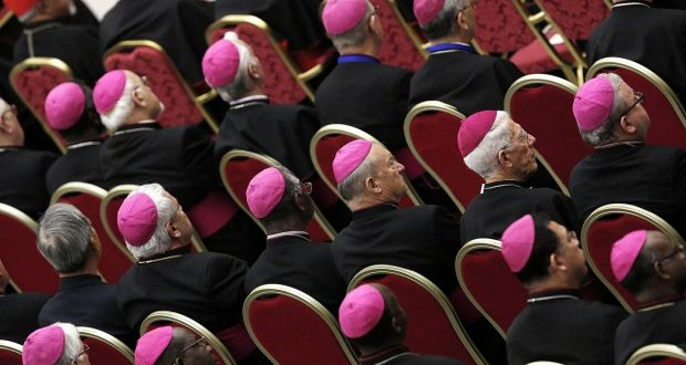 The Roman Catholic Church, purporting to represent God's people on Earth, excludes half its membership from leadership positions, because they are female. Photograph: Giuseppe Lami