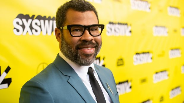"Jordan Peele attends the Us premiere at SXSW in Austin, Texas: ""It's very cool and scary to have people expecting you to by Matt Winkelmeyer/Getty Images for SXSW"