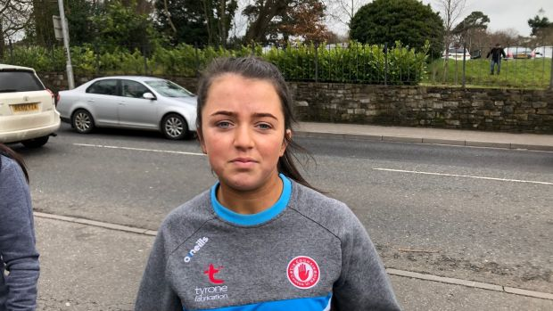 Kyra Coyle, from Stewartstown, Co Tyrone who was caught up in the incident at Greenvale Hotel in which three young people died. Photograph: Gerry Moriarty