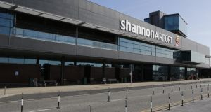 Both men were  charged with causing criminal damage to the airport perimeter fence at Shannon airport and unlawful trespass into a taxi-way at Shannon airport on St Patrick's Day.