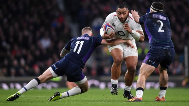 Billy Vunipola. Photograph: Laurence Griffiths/Getty Images