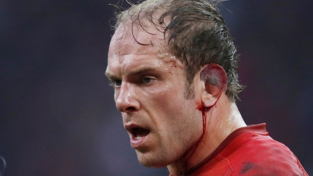 Alun Wyn Jones. Photograph: Paul Childs/Action Images via Reuters