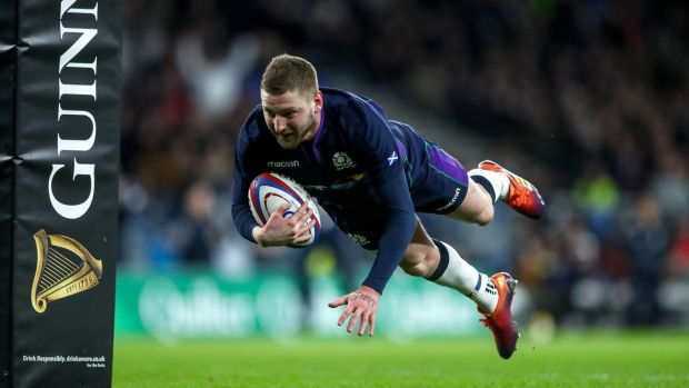 Finn Russell. Photograph: James Crombie/Inpho